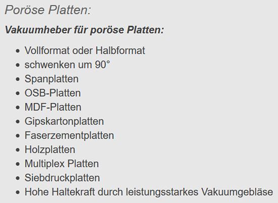 Coils horizontal transportieren für  Niedersachsen
