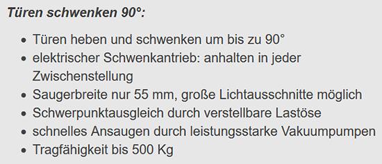 Hebetechnik aus  Stuttgart