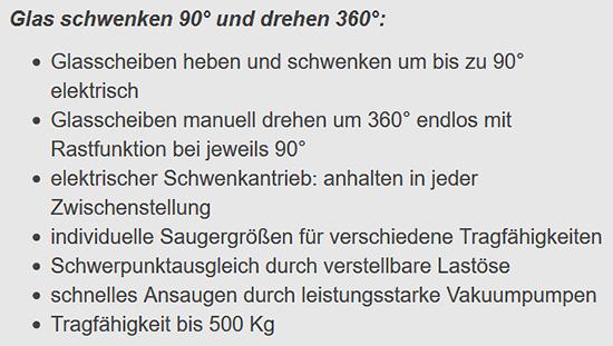 Vakuumhebegeräte aus 70173 Stuttgart