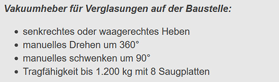 Vakuumpumpe für  Münster